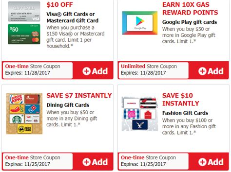 Turn Gift Cards Into Cash Safeway - save on fashion dining and visa mastercard gift cards at safeway vons and more