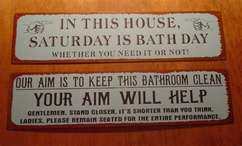 sayings for bathroom signs primitive bathroom sayings and quotes quotesgram