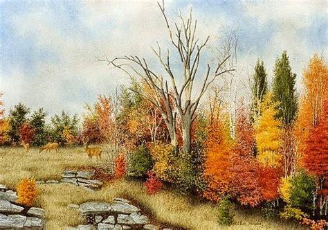 imagenes de paisajes en acuarela im 225 genes arte pinturas paisajes naturales pintados con