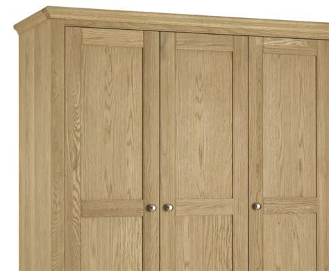 hstead oak 3 door wardrobe