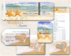 beach wedding invitations blank