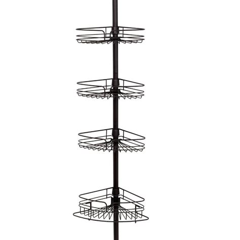 zenith bathtub and shower pole caddy 5 best pole caddy great space saver for any bathroom tool box