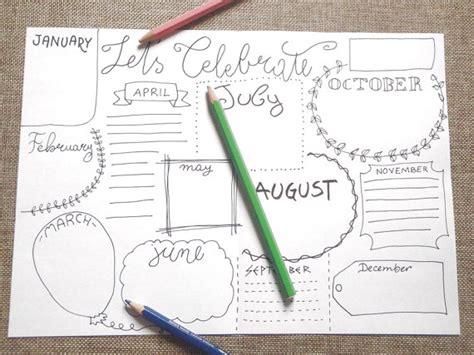 layout journal download celebrate bullet bujo journal birthday anniversary blank