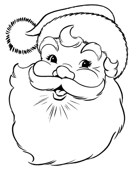 printable santa color pages free printable santa claus coloring pages for kids