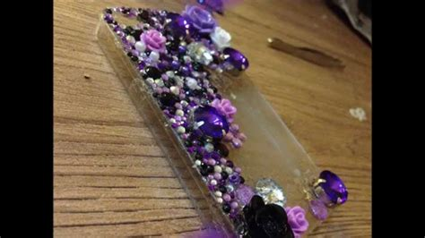 Handmade Iphone Covers - my handmade iphone 4 4s cover how to make a blinged out