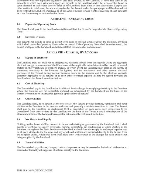 warehouse lease agreement template warehouse lease agreement template warehouse odor removal