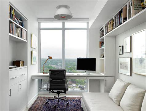 Houzz Home Office by Scandinavian Modern Condominium Scandinavian Home