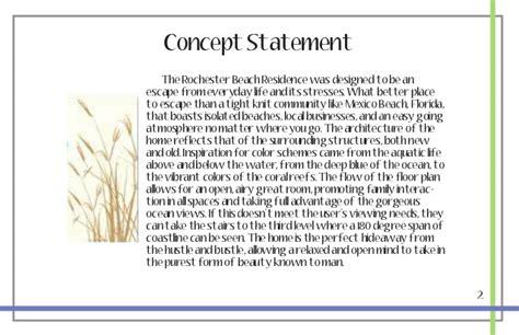 design statement template 2 concept statement