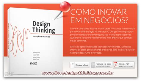 design thinking livro inova 199 195 o em neg 211 cios design thinking gest 227 o resultados