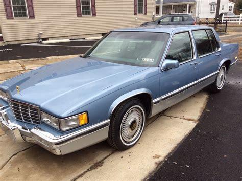 1991 cadillac touring sedan 4 door 4 9l