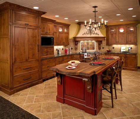 kitchen island cabinet design mullet cabinet tuscan inspired kitchen