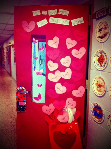 door decorations for valentines valentines day classroom door decor classroom decorating