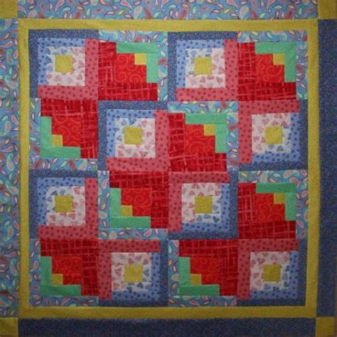 free quilt pattern log cabin kilter bomquilts