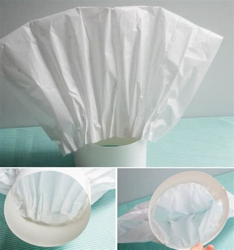How To Make Chef Cap With Paper - ruff draft how to make a tissue paper chef hat anders