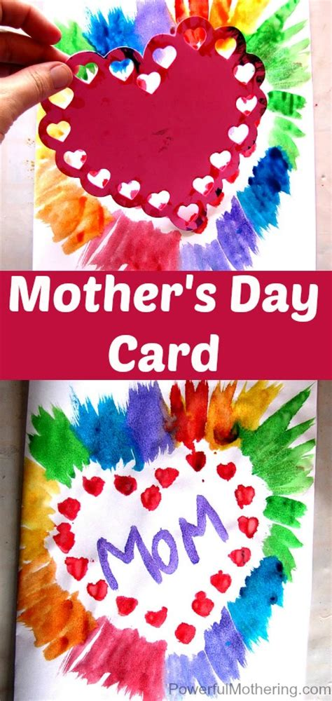 how to make a mothers day card simple s day card