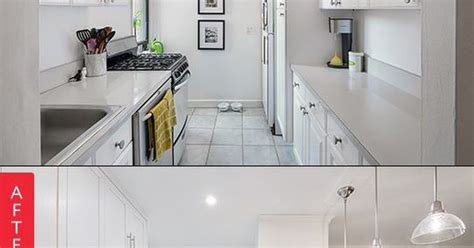 opening up a galley kitchen before and after before after a nyc galley kitchen opens up galley