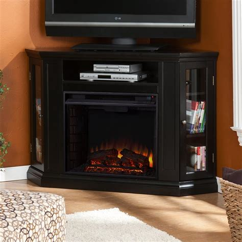 Boston Fireplace by Shop Boston Loft Furnishings 48 In W 4700 Btu Black Wood
