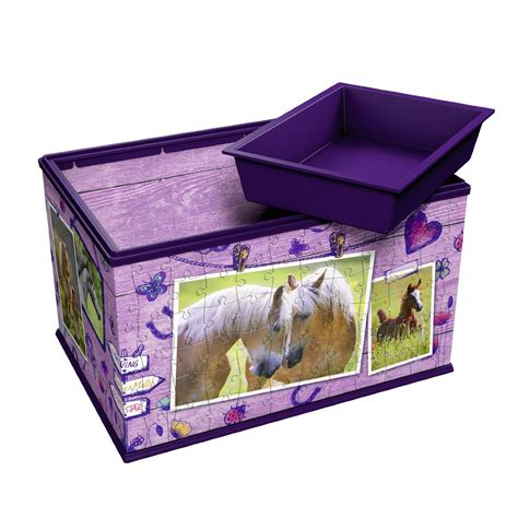 Puzzle 216 Pieces 3d puzzle girly edition storage box ravensburger