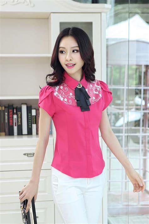 Baju Atasan Pink Cat baju atasan kemeja warna pink 2016 myrosefashion