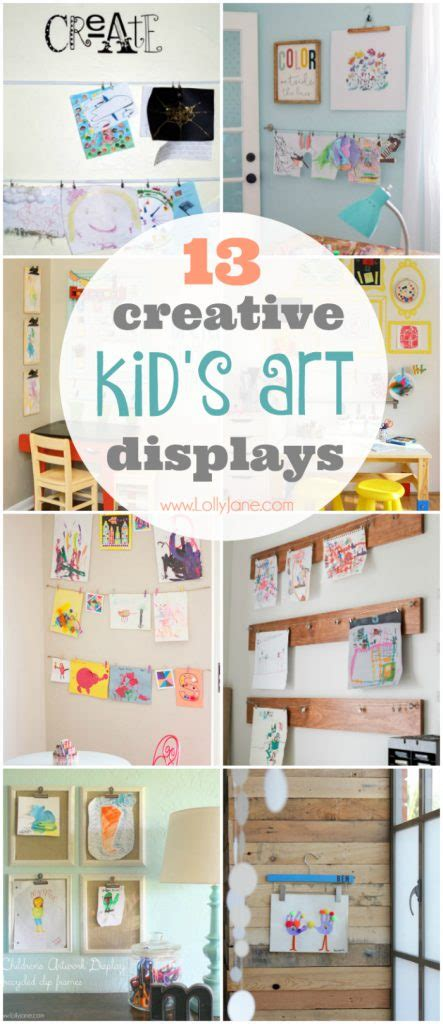 ways to display artwork creative ways to display artwork lolly