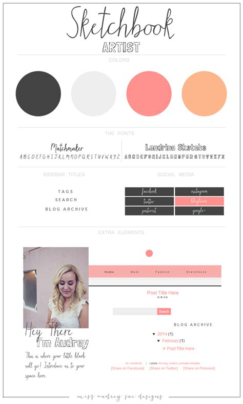 blogger new templates miss audrey sue blog february 2014