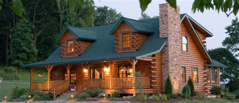 Log Cabin House by Log Homes Southland Log Homes Offers Custom Log Homes