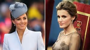 Royal face off spain s princess letizia vs duchess kate latest