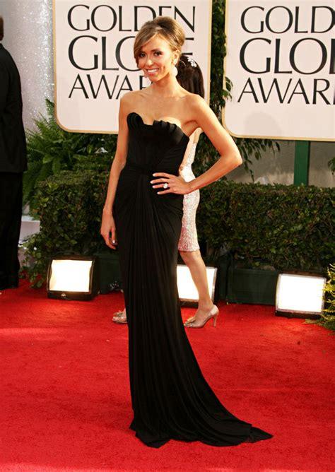 Giuliana Rancic Black Evening Dress 2011 Golden Globe Awards   TheCelebrityDresses