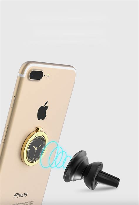 Ring Stand Hp Handphone Iring Holder Metal Mirror Logo Smartphone metal iring smartphone holder desain arloji silver jakartanotebook