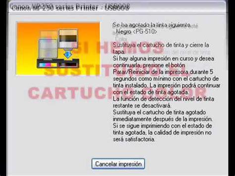 cara reset printer canon mp287 error e05 how to reset a new canon mp series doovi