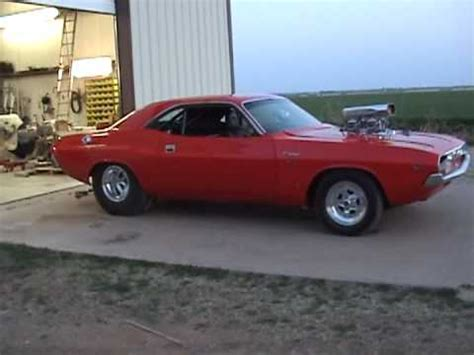 1970 supercharged challenger