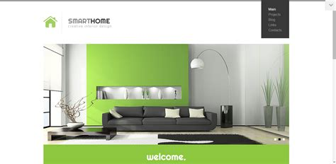 smart home interior design 20 modern interior design furniture wordpress themes