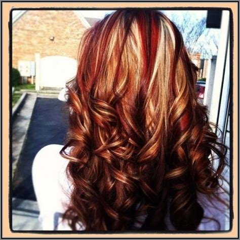 hair color ideas with highlights and lowlights google red hair with highlights and lowlights google search