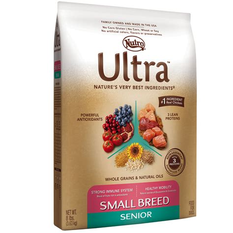 nutro ultra puppy food nutro ultra small breed senior food 8 lb