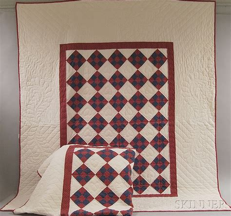 Cotton Patch Quilts by Pair Of Amish Cotton Nine Patch Quilts Sale Number 2765m Lot Number 247 Skinner