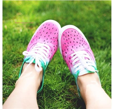 diy watermelon shoes diy watermelon shoes watermelon pineapple