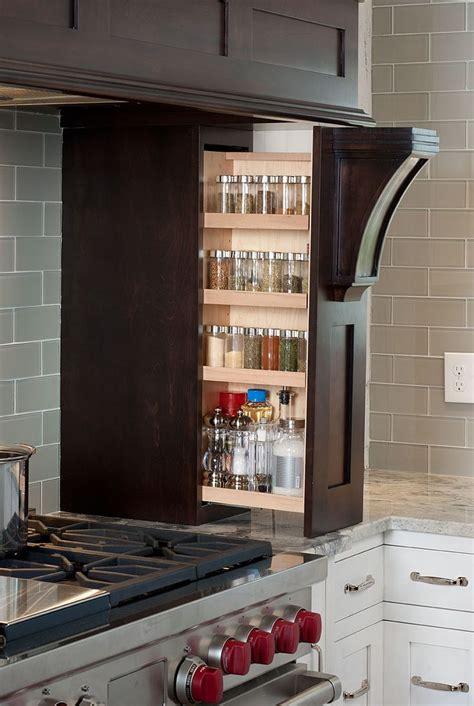 hidden spice rack houzz 40 ingenious kitchen cabinetry ideas and designs renoguide