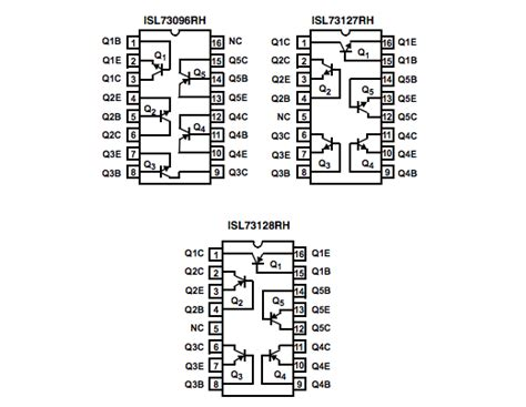 rf lifier design using isl73xxxrh transistor array eeweb intersil tech community