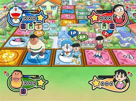 doraemon movie and games doraemon parties on the wii siliconera