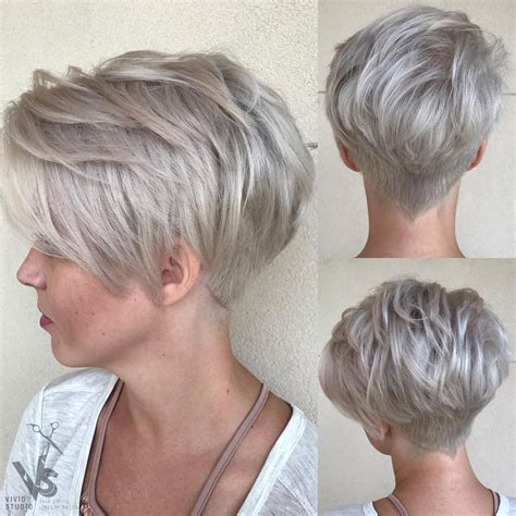 short nape hair style 10 trendy pixie hair cut for blondes brunettes 2018