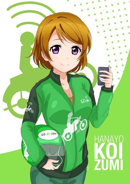 Anime Indonesia Gojek Gambar Simak Serunya Anggota U S Saat Memakai Seragam