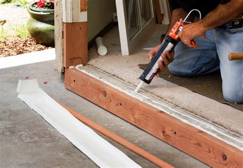 How To Install A Threshold For An Exterior Door Exterior Door Installation