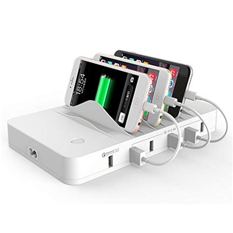 quick charge multi device charging station for phones quick charge 3 0 hitrends charging station dock