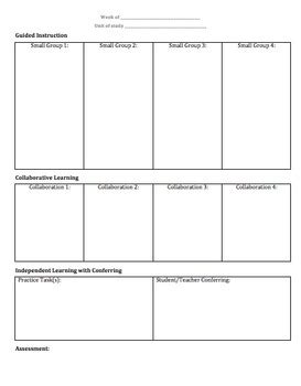 Gradual Release Of Responsibility Grr Lesson Planning Template 1 By Sra Ward Gradual Release Lesson Plan Template