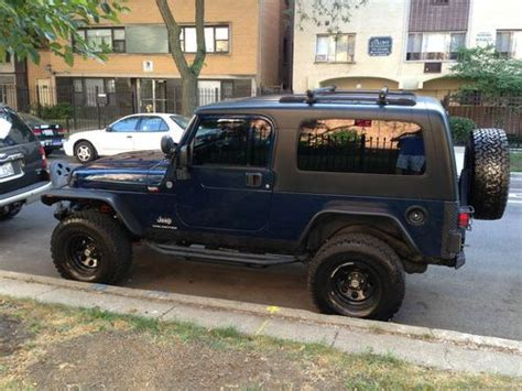 Two Door Jeeps For Sale Buy Used 2005 Jeep Wrangler Unlimited Sport Utility 2 Door