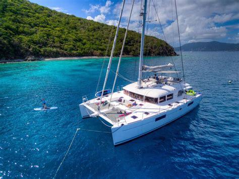 private catamaran bvi altesse crewed catamaran charter british virgin islands