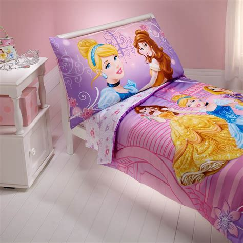 Disney Princess Dress To Shine Toddlers 4 Pc Bedding Set Disney Princess Crib Bedding Sets