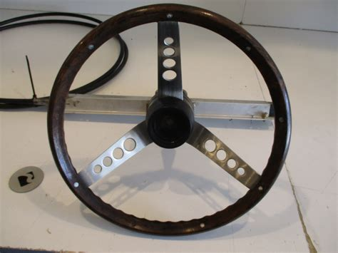 boat steering cable and wheel ride guide heavy duty 15 6 quot rack pinion boat steering