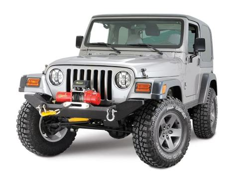 Jeep Yj Armor Armor Tj 19531 Armor 4x4 Front Formed Winch