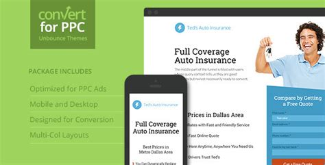 Ppc Landing Page Theme For Unbounce Theme For U Adwords Landing Page Templates